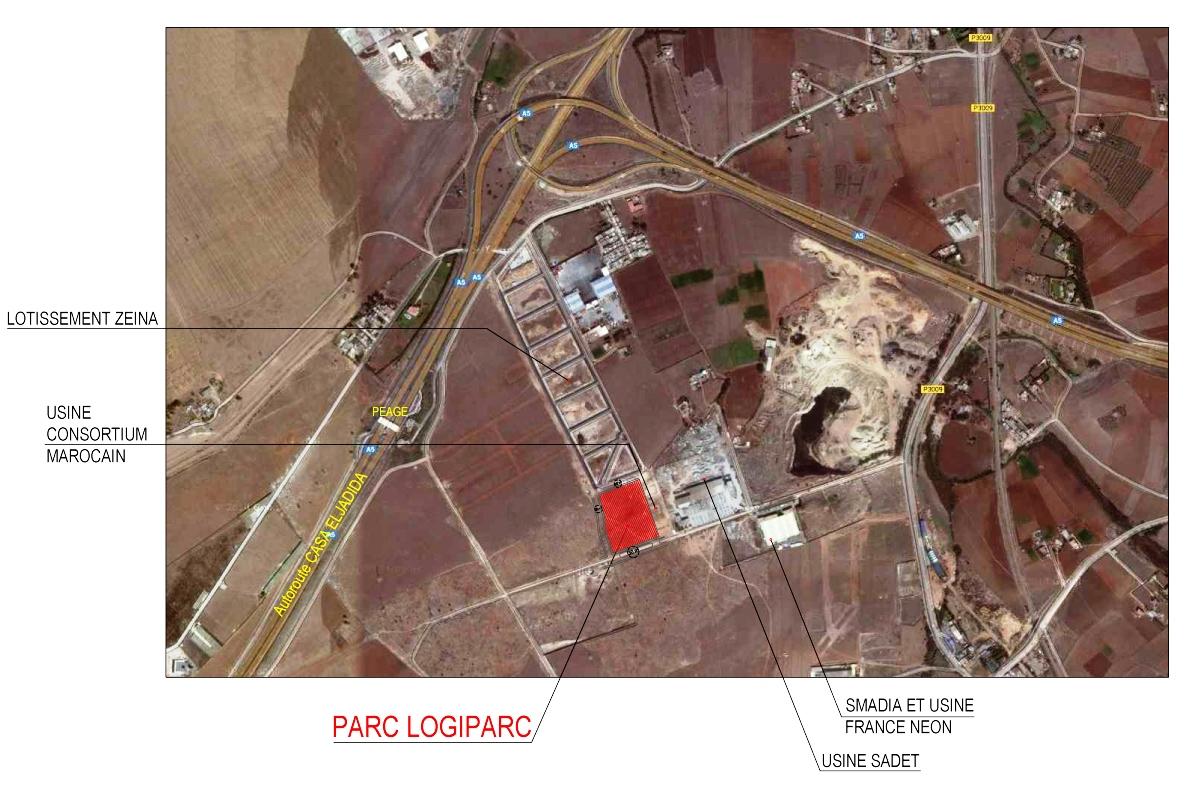 2.--PARC-LOGIPARC-I---SITUATION-DU-PARC